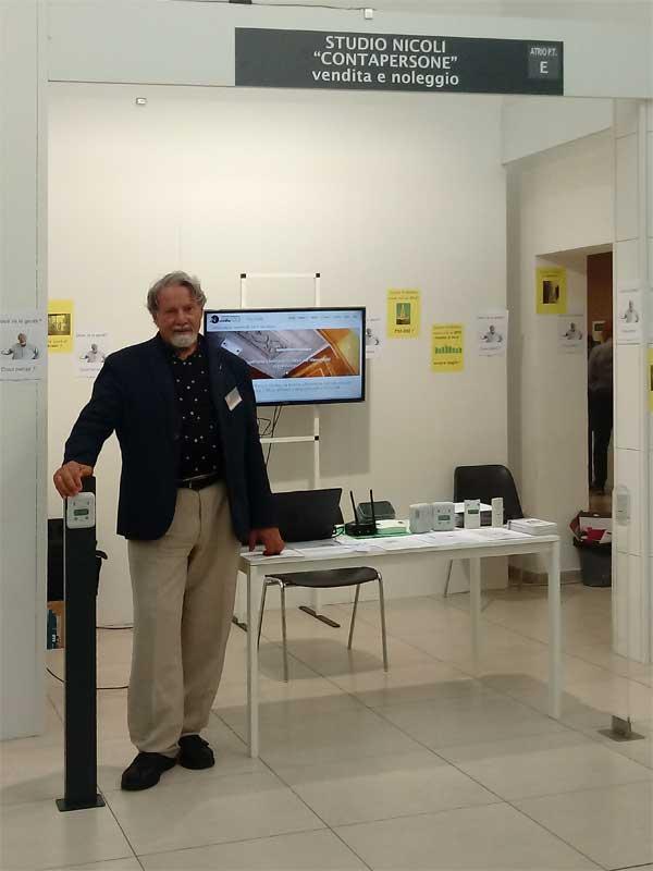 Contapersone per musei alla fiera di Ferrara 2019