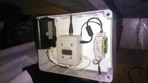 Radioricevitore dei contapersone con router